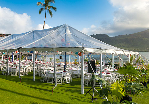 Clear-Top Tents - Kauai Tent Rentals