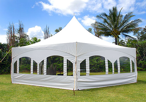 Hexagon Tents - Kauai Tent Rentals