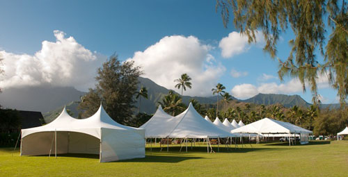 Tents on Kauai - Kauai Tent Rental