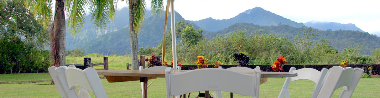 Kauai party rentals