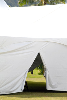 Marquee Tent with zipper wall - Event Tent Rental